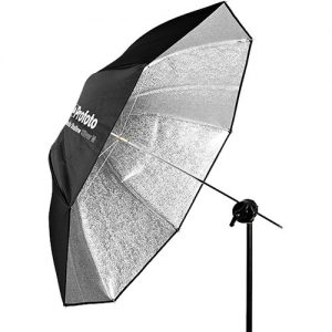 "Profoto Shallow Silver Umbrella (Medium, 41"")"
